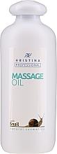 Profumi e cosmetici Olio da massaggio alla bava di lumaca - Hrisnina Cosmetics Professional Massage Oil With Snail