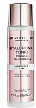 Profumi e cosmetici Tonico idratante - Revolution Skincare Moisturising Tonic Hyaluronic Acid