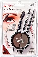 Profumi e cosmetici Set per sopracciglia - Kiss Beautiful Brow Kit