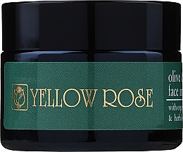 Profumi e cosmetici Maschera viso con olio d'oliva ed estratti di erbe - Yellow Rose Face Mask