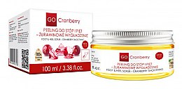 Profumi e cosmetici Scrub piedi - GoCranberry Cranberry Smoothing Foot & Heel Scrub
