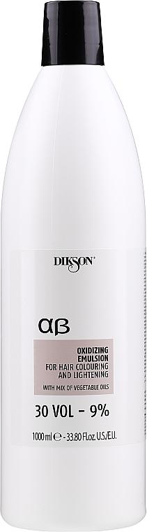 Agente ossidante 9% - Dikson ArgaBeta Professional Oxidizing Emulsion — foto N1