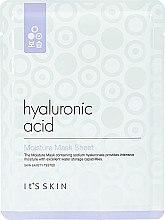 Profumi e cosmetici Maschera viso in tessuto idratante all'acido ialuronico - It's Skin Hyaluronic Acid Moisture Mask Sheet