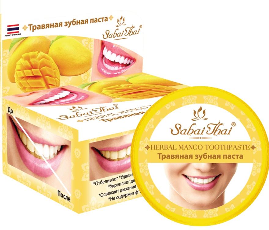 Dentifricio con mango - Sabai Thai Herbal Mango Toothpaste
