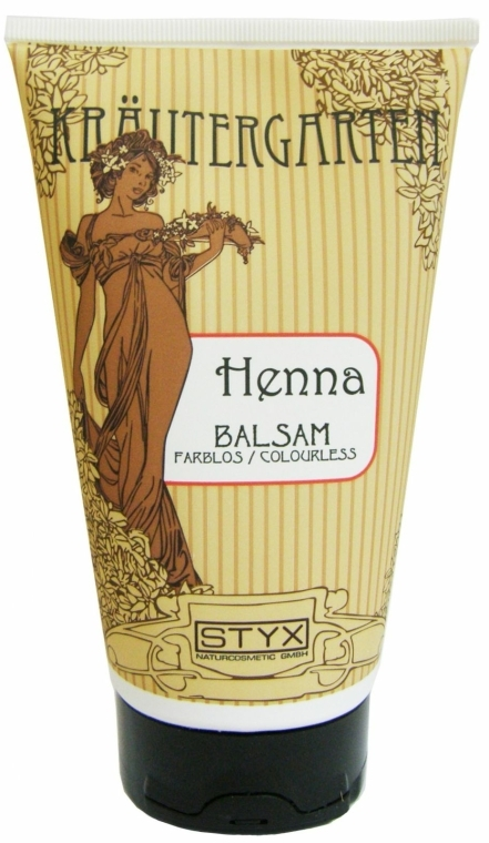 Balsamo per capelli colorati all'henné, incolore - Styx Naturcosmetic Henna Balsam