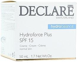 Profumi e cosmetici Crema ultra idratante da giorno, con SPF 15 - Declare Hydroforce Plus SPF 15 Cream