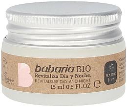 Profumi e cosmetici Crema contorno occhi - Babaria Bio Revitalizes Day And Night Eye Contour