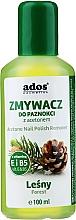 Profumi e cosmetici Solvente per unghie al profumo di bosco - Ados Acetone Nail Polish Remover