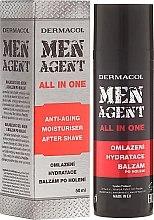 Profumi e cosmetici Crema-balsamo per il viso - Dermacol Men Agent All In One