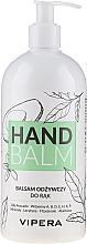 Profumi e cosmetici Balsamo mani nutriente - Vipera Nourishing Hand Balm