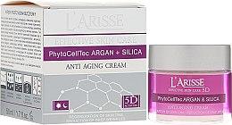 Profumi e cosmetici Crema viso antirughe con cellule staminali di argan 70+ - Ava Laboratorium L'Arisse 5D Anti-Wrinkle Cream Stem Cells & Silica
