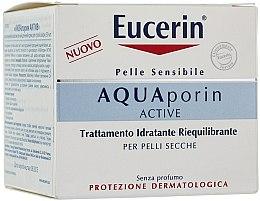 Profumi e cosmetici Crema viso - Eucerin AquaPorin Active Deep Long-lasting Hydration For Dry Skin
