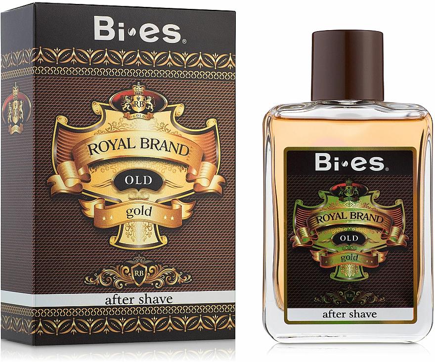 Bi-Es Royal Brand Gold - Lozione dopobarba