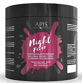Peeling detergente corpo e mani - Apis Professional Night Fever Peelling For Body, Hand And Foot — foto N3