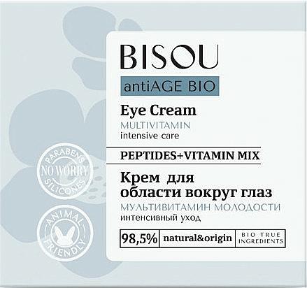 """Crema contorno occhi """"Multivitaminica"""" - Bisou AntiAge Bio Eye Cream"""