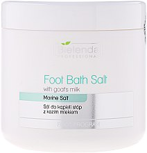 Profumi e cosmetici Pediluvio con sale e latte di capra - Bielenda Professional Foot Bath Salt With Goat's Milk