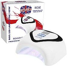 Profumi e cosmetici Lampada UV/LED - Ronney Nail Led Lamp Rose White