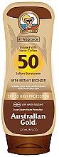 Profumi e cosmetici Lozione solare abbronzante - Australian Gold Bronzer Lotion SPF50