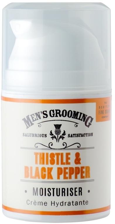 Dopobarba idratante - Scottish Fine Soaps Mens Grooming Thistle & Black Pepper Moisturiser — foto N1
