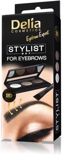 Kit per lo styling delle sopracciglia - Delia Cosmetics Eyebrow Expert Stylist Set
