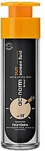 Profumi e cosmetici Fluido per viso - Frezyderm Ac-Norm Active Sun Screen Tinted Fluid Spf50+