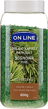 "Profumi e cosmetici Sale da bagno ""Pino"" - On Line Pine Tree Bath Salt"