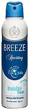 Profumi e cosmetici Breeze Deo Sporting - Deodorante corpo