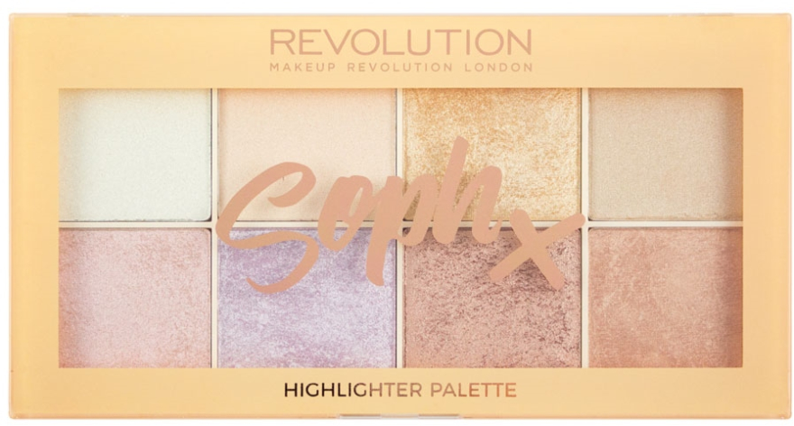 Palette di illuminanti viso - Makeup Revolution Soph Highlighter Palette