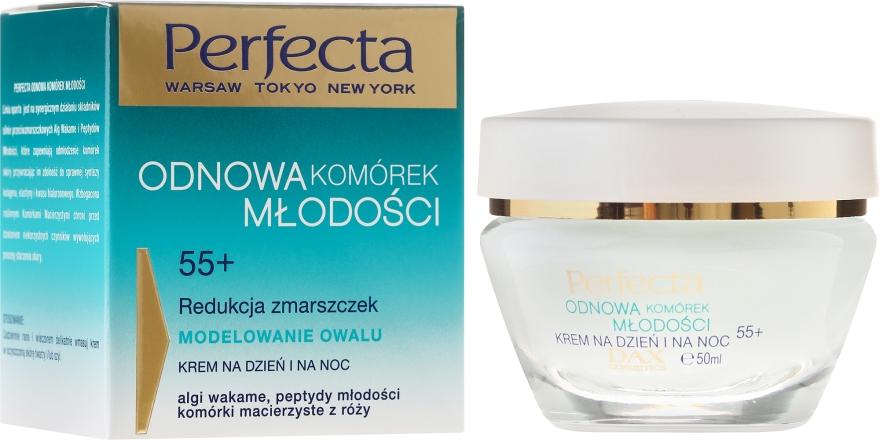Crema viso modellante antirughe - Dax Cosmetics Youth Cells Renewal 55+
