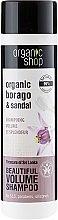 "Profumi e cosmetici Shampoo ""Tesori dello Sri Lanka"" - Organic Shop Organic Sandal and Indian Nut Volume Shampoo"