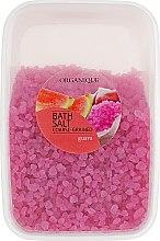 """Profumi e cosmetici Sale da bagno, granuli grandi """"Guava"""" - Organique Bath Salt Dead Sea"""