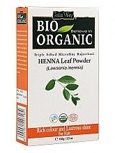 Profumi e cosmetici Polvere di foglie di henné per colorare i capelli - Indus Valley Bio Organic Henna Leaf Powder