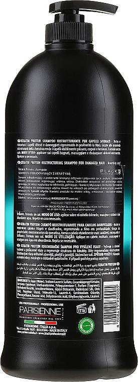 """Shampoo ristrutturante per capelli danneggiati """"Proteina della cheratina"""" - Black Professional Line Keratin Protein Shampoo — foto N2"""