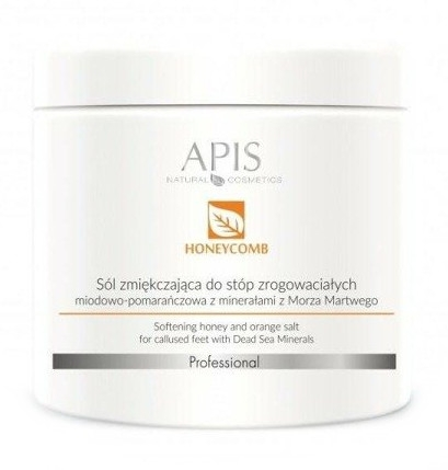 Peeling al miele e sale per i piedi - APIS Professional Softening Honey And Orange Salt — foto N1