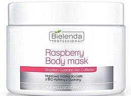 Profumi e cosmetici Maschera corpo - Bielenda Professional Raspberry With Guarana Bio-Caffeine Body Mask