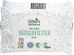 Profumi e cosmetici Salviettine umidificate, 3x12 pz. - Gron Balance Baby & Kids