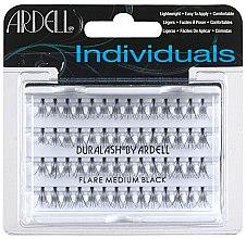 Profumi e cosmetici Ciglia finte a ciuffetti, 56 pz - Ardell Individuals Flare Lashes Medium Black