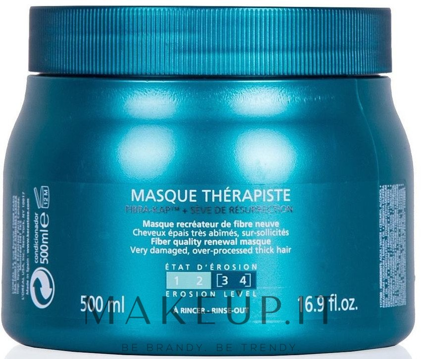 Maschera rigenerante per capelli molto danneggiati - Kerastase Resistance Therapist Renewal Mask — foto 500 ml