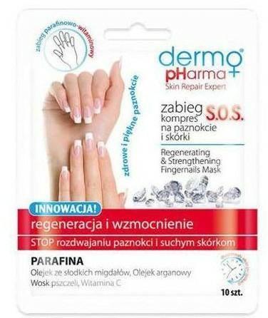 "Trattamento unghie e cuticole ""SOS Rigenerazione e rafforzamento"" - Dermo Pharma Skin Repair Expert S.O.S. Regenerating& Strengthening Fingernails Mask — foto N1"