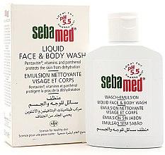 Profumi e cosmetici Emulsione doccia per viso e corpo - Sebamed Liquid Face & Body Wash
