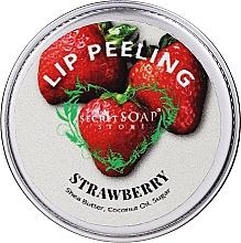 """Profumi e cosmetici Scrub labbra allo zucchero """"Fragola"""" - The Secret Soap Store Lip Scrub"""