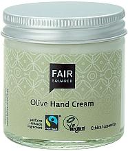 """Profumi e cosmetici Crema per mani """"Oliva"""" - Fair Squared Olive Hand Cream"""
