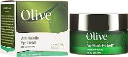 Profumi e cosmetici Crema contorno occhi antirughe - Frulatte Olive Anti-Wrinkle Eye Cream