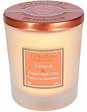"""Profumi e cosmetici Candela profumata """"Vaniglia e Pompelmo"""" - Collines de Provence Candle Vanilla Grapefruit"""