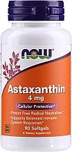 "Profumi e cosmetici Integratore alimentare ""Astaxantina 4 mg "" - Now Foods Astaxanthin Cellular Protection"