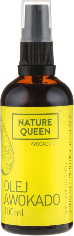 "Olio cosmetico ""Avocado"" - Nature Queen Avocado Oil — foto N3"