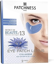 Profumi e cosmetici Patch occhi rivitalizzanti con estratto di loto - Patchness Eye Patch Lotus
