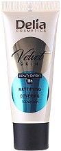 Profumi e cosmetici Fondotinta opacizzante - Delia Mineral Velvet Skin