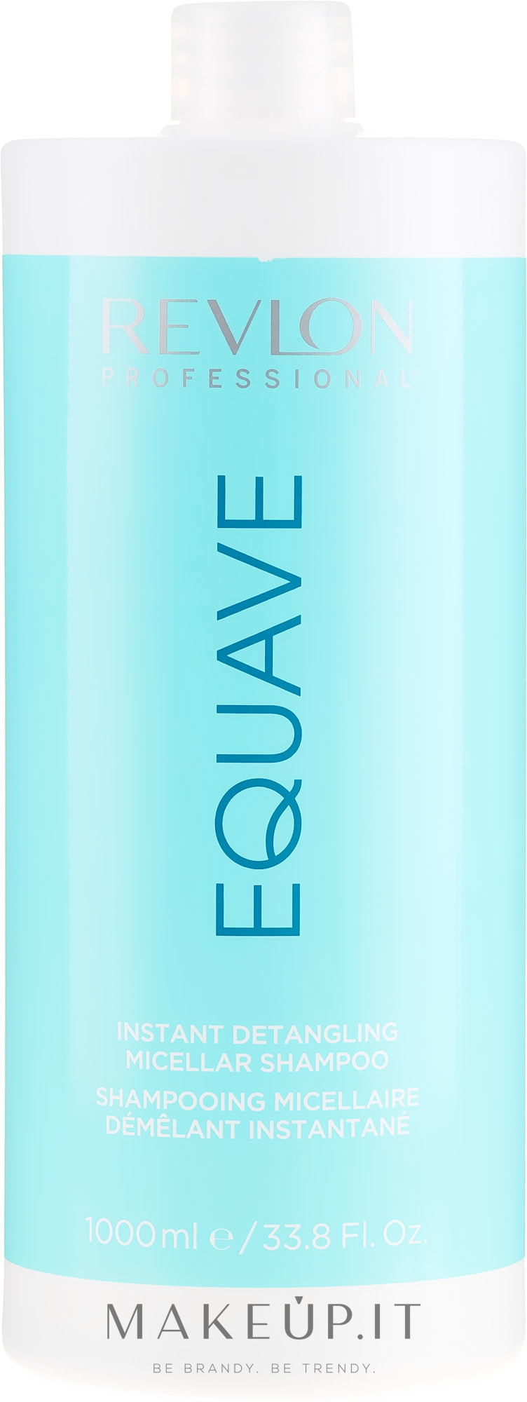 Shampoo micellare - Revlon Professional Equave Instant Detangeling Micellar Shampoo — foto 1000 ml