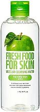 Profumi e cosmetici Acqua micellare per pelli grasse - Fresh Food For Skin Apple Micellar Cleansing Water